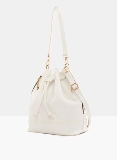Bagmori Messenger / Askılı Çanta Beyaz
